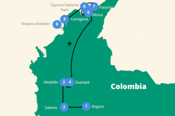 Colombia rondreis 3 weken