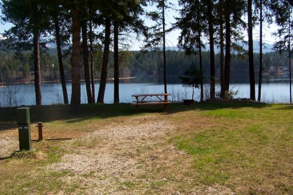Dutch lake campground