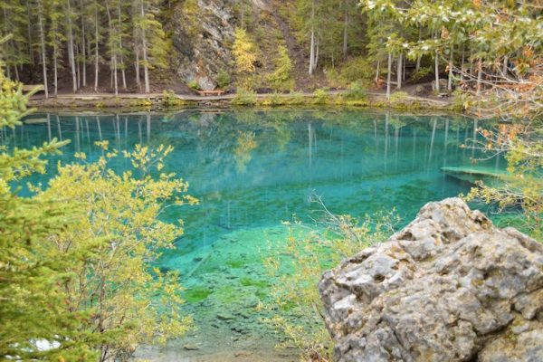 Grassi Lakes Banff national park