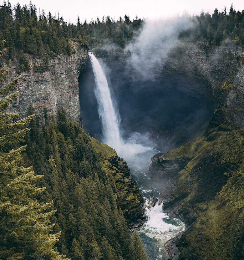 Helmcken Falls wells gray