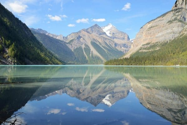 Kinney Lake mount robson provincial park