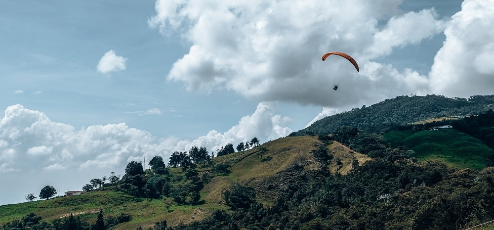 paragliden medellin