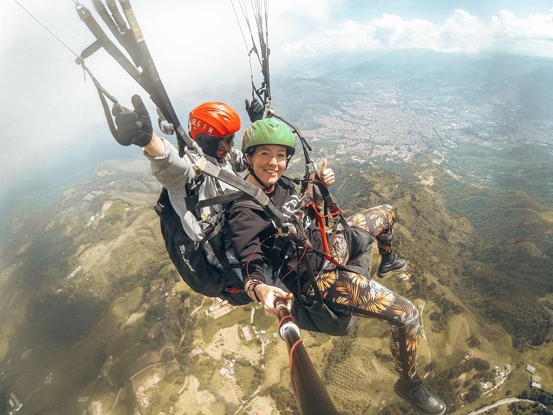 paragliden medellin colombia
