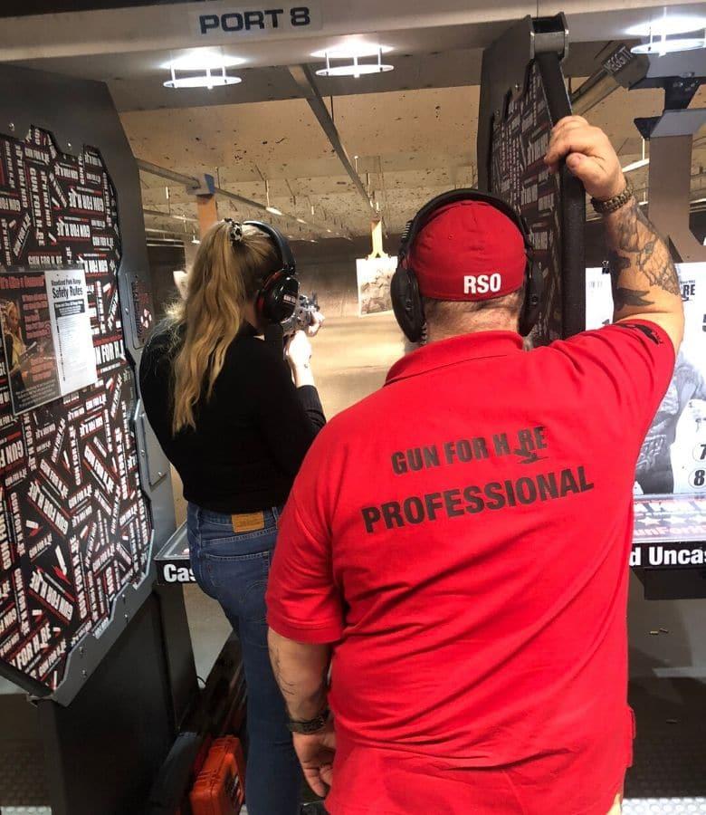 waar schieten met wapens in amerika