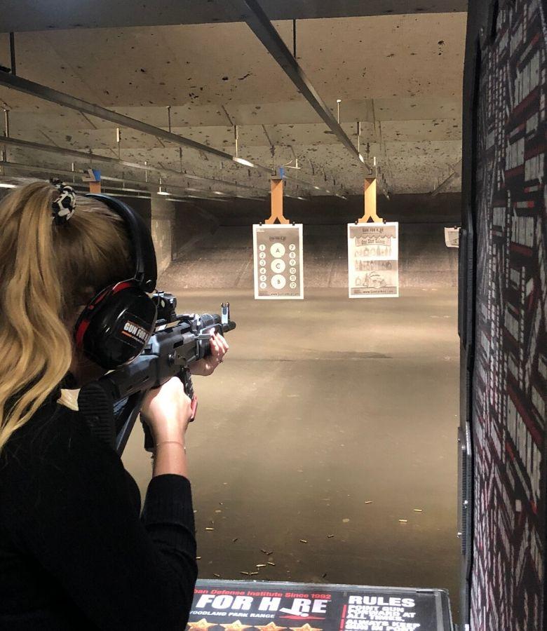schieten met een AK 47 in amerika new york new jersey