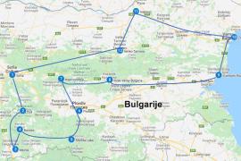 Route bulgarije 3 weken