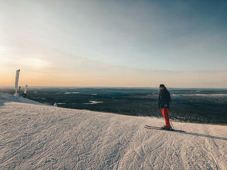 Waar skiën in fins lapland