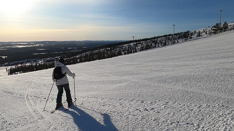 Skiën in Yllas Lapland