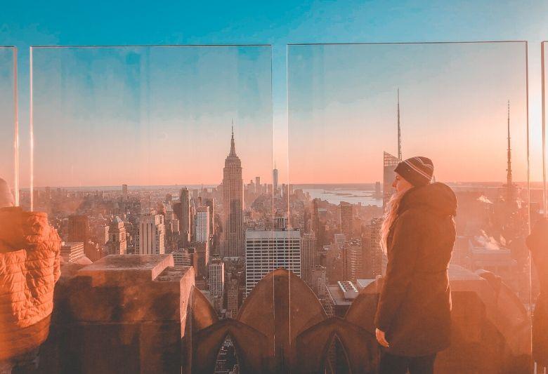 uitzicht new york city