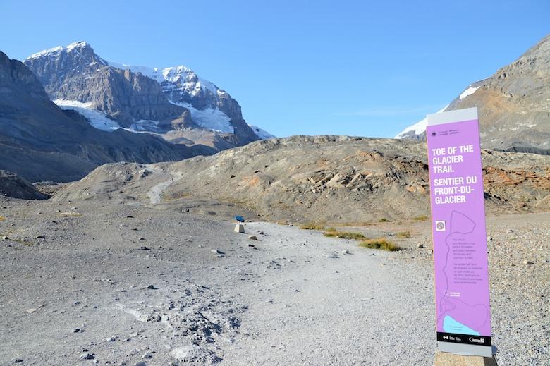 Athabasca Glacier canada