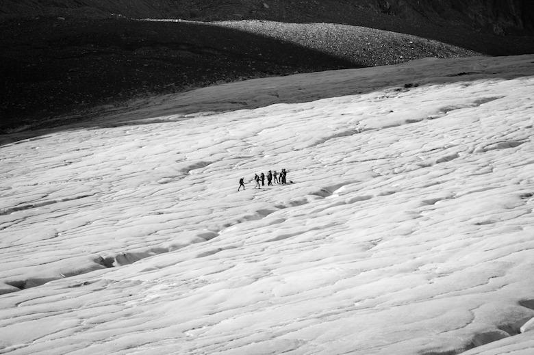 Athabasca Glacier icefield parkway