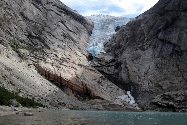 Olden bezienswaardigheden gletsjer