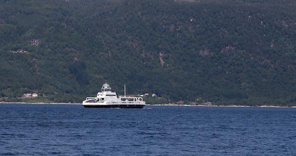 Noorwegen veerboot auto