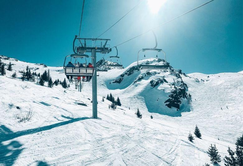 snowboarden in frankrijk skigebied
