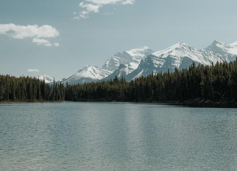 hector lake banff