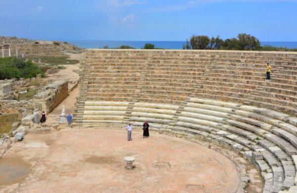 De indrukwekkende ruïnes van Salamis