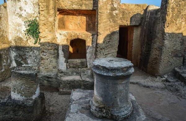overblijfselen in cyprus
