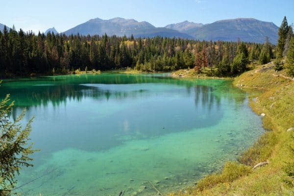 valley of the five lakes Jasper national park