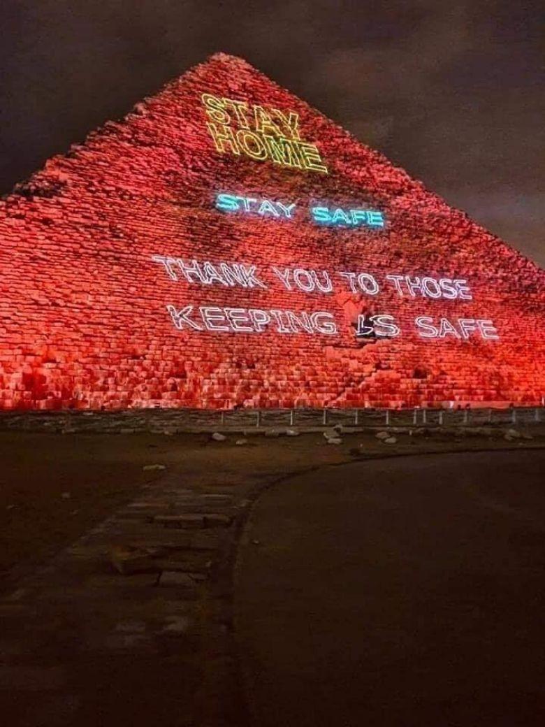 lichtshow piramides cairo