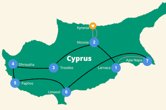 Cyprus roadtrip