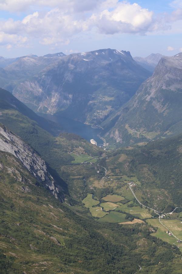 Geiranger uitzichtpunt Dalsnibba