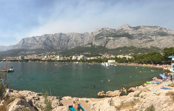 Makarska Kroatië-zomervakantie