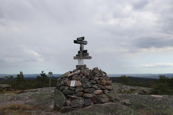 Noorwegen wandeltocht uitzicht