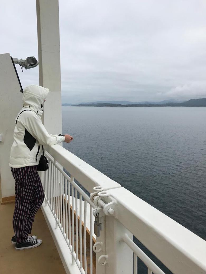 denemarken naar noorwegen boot