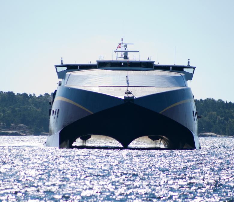 ferry naar noorwegen