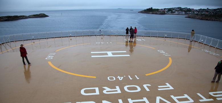 veerboot naar noorwegen
