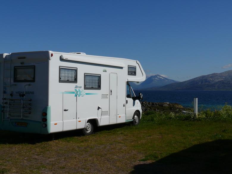 Met camper naar noorwegen