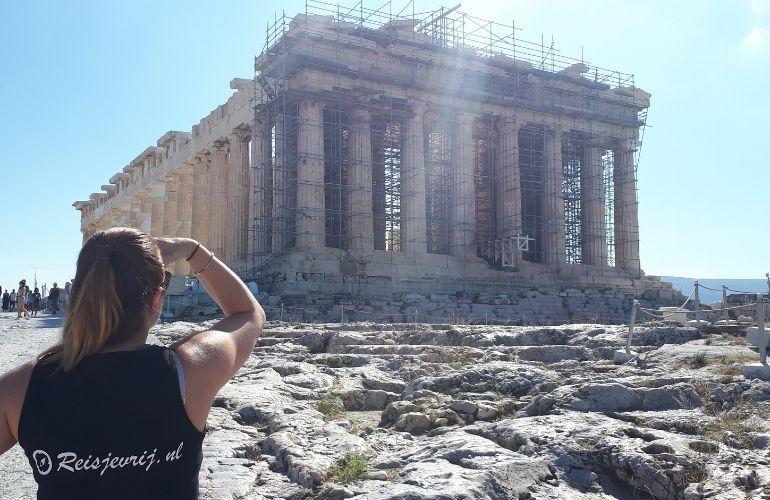 Athene bezienswaardigheden Akropolis