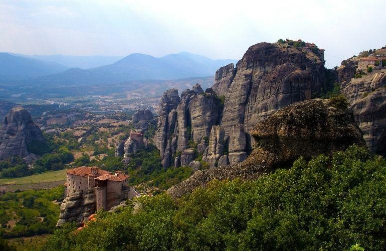 Meteora kloosters dagtour athene