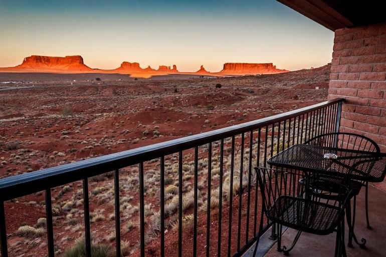 Overnachten in Monument Valley