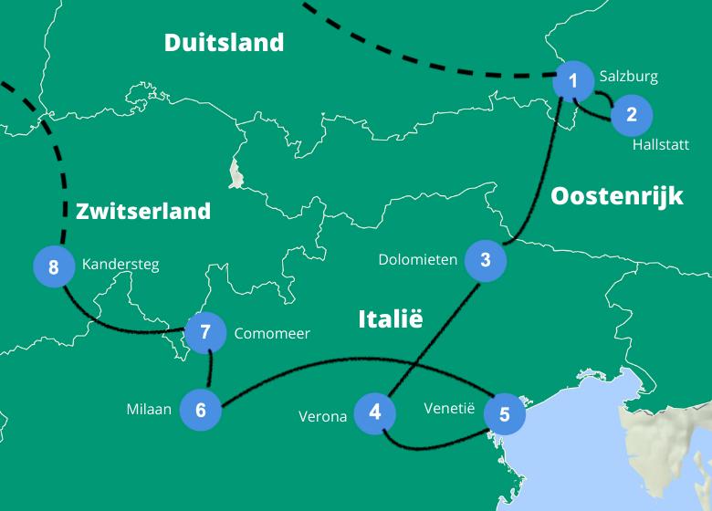 Roadtrip europa 3 weken