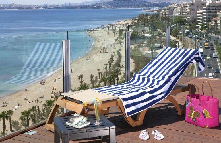 Stranden en zee Athene