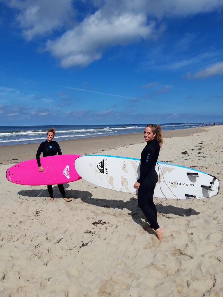 Surfen op Texel