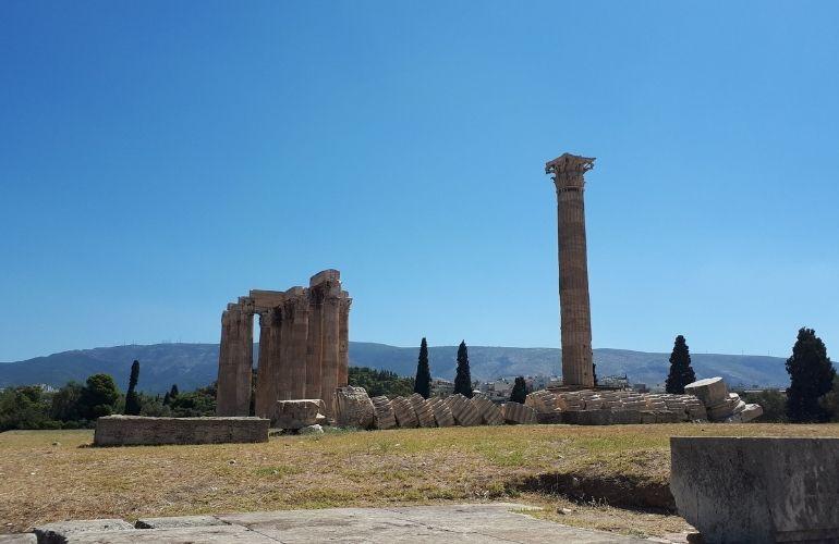 wat te zien in Athene