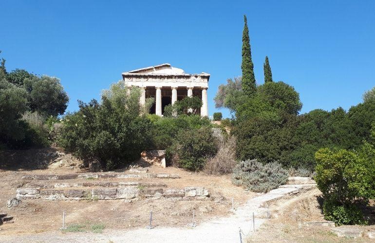 zien en doen in Athene