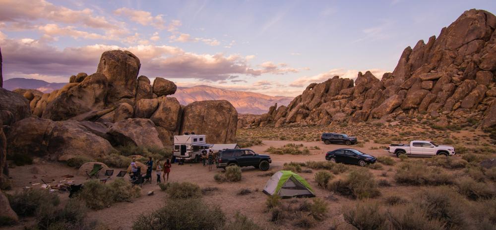 Waar kamperen in Amerika
