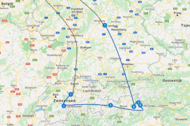 Camper route Europa tips