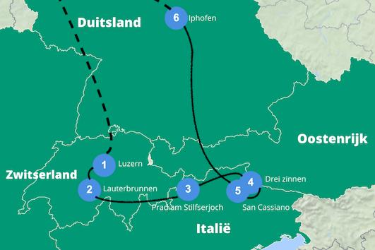 Camperreis europa 2 weken