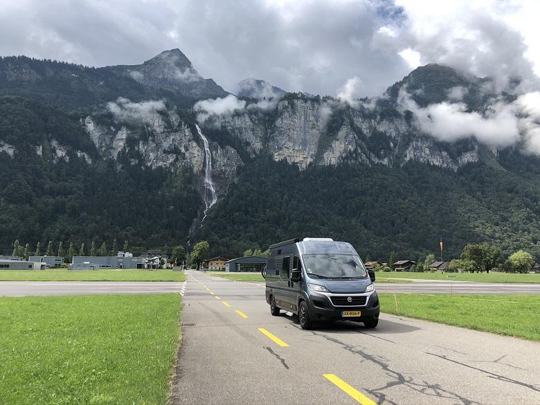 leuke route alpen met camper