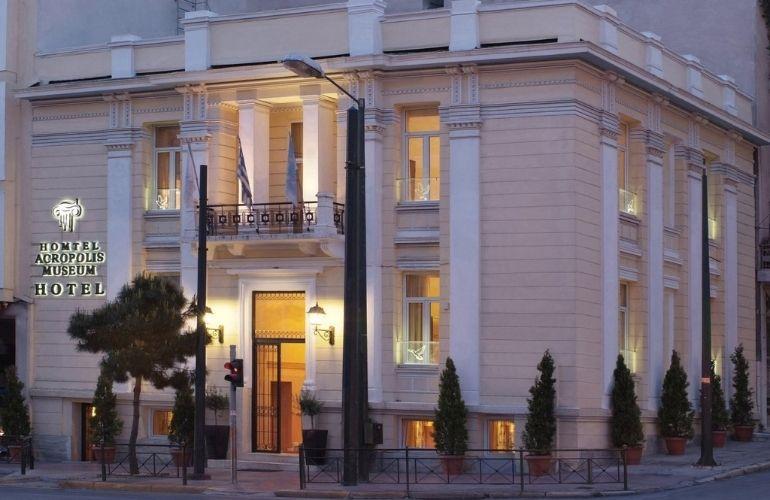 hotels aan akropolis athene