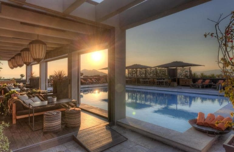 luxe hotels in athene