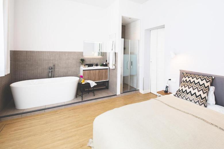 den haag hotel met bad in kamer