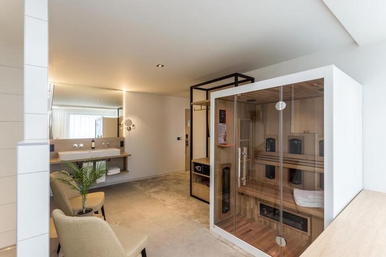 Hotel met sauna in kamer limburg