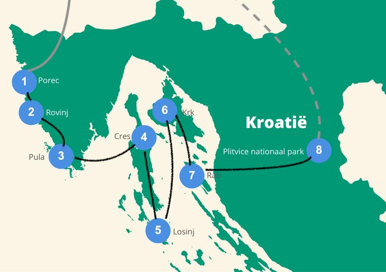 Roadtrip kroatie eilanden