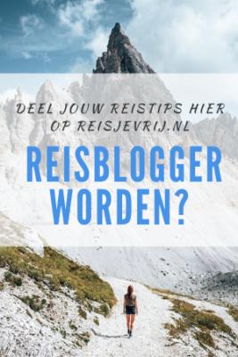 reisblogger gezocht