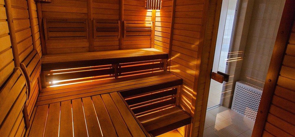 Hotel met sauna op kamer